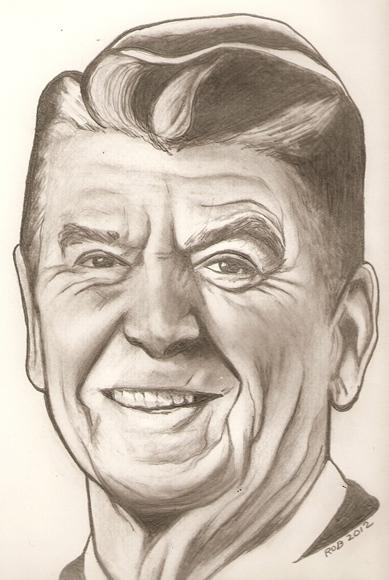 Ronald Reagan by RobCrandall